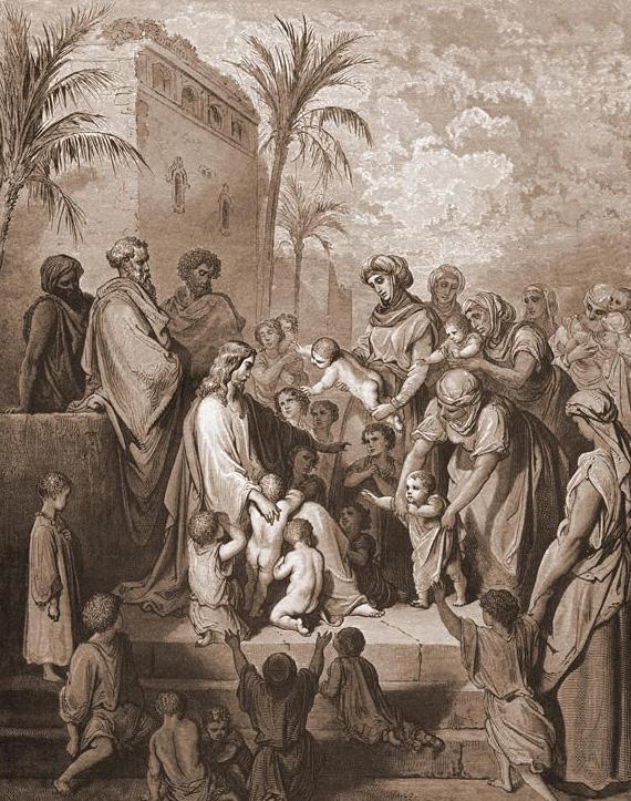 Markusevangelium 10 13-16